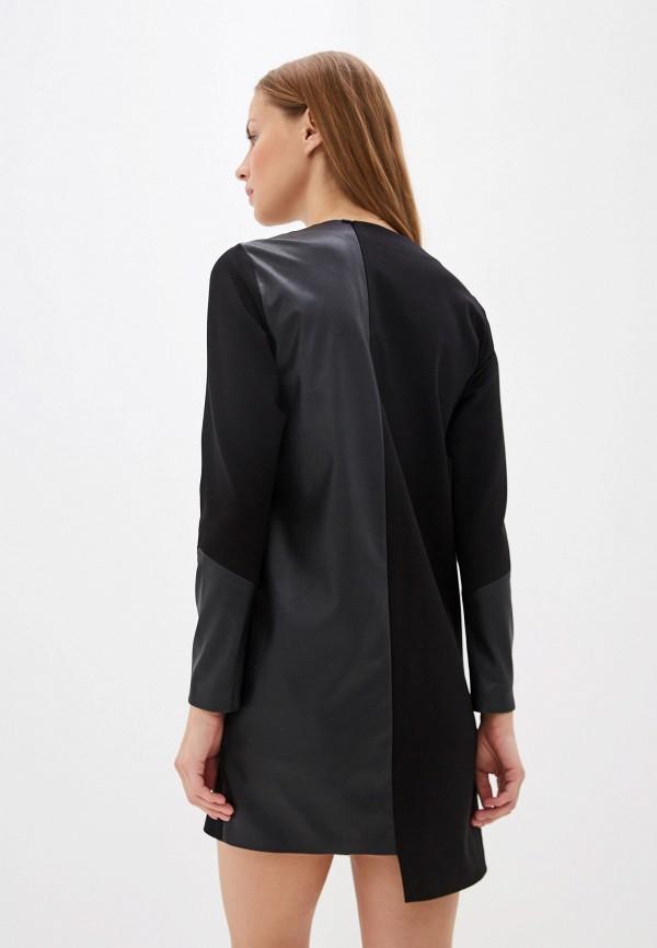 Фото 3 - Женское платье Crocodile Coup черного цвета