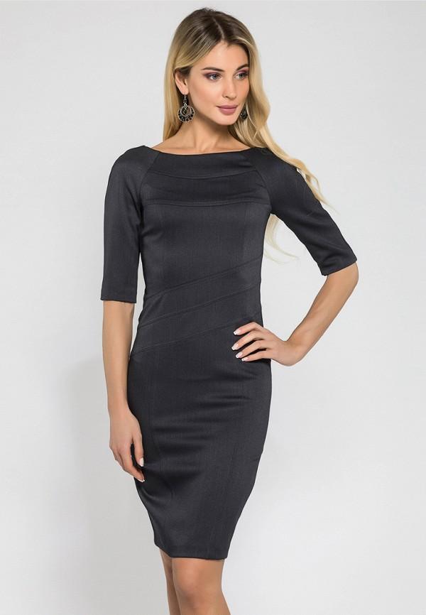 Купить Платье Gloss, mp002xw1g2va, серый, Весна-лето 2018