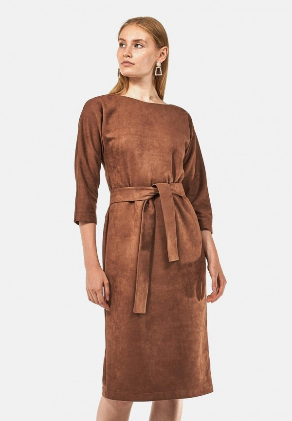 женское платье alina assi, бежевое