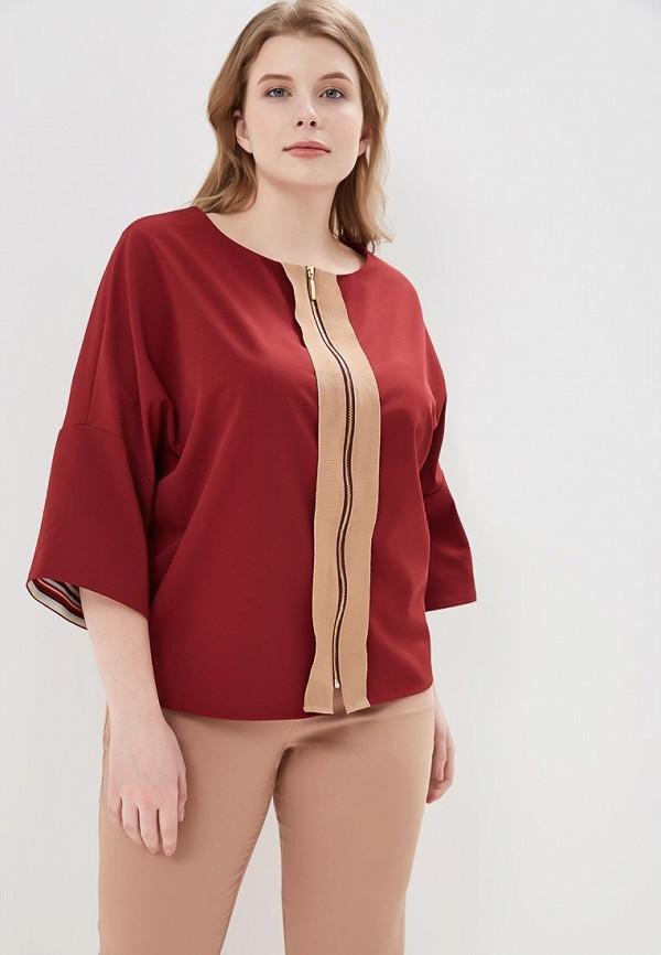 Купить Блуза Larro, MP002XW1G41U, бордовый, Весна-лето 2018