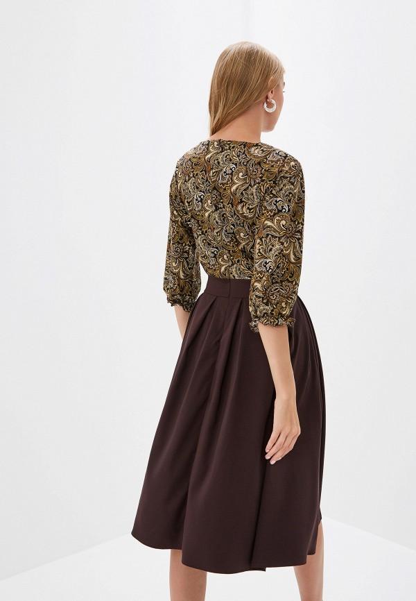Платье D&M by 1001 dress цвет коричневый  Фото 3