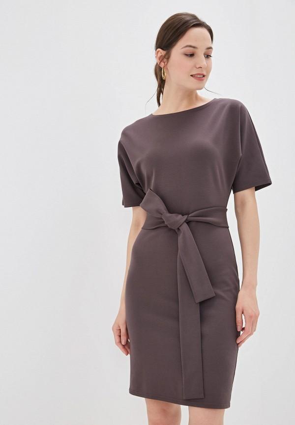 Платье D&M by 1001 dress D&M by 1001 dress MP002XW1G475 платье 1001 dress цвет светло коричневый темно бежевый dm00204 размер l 46