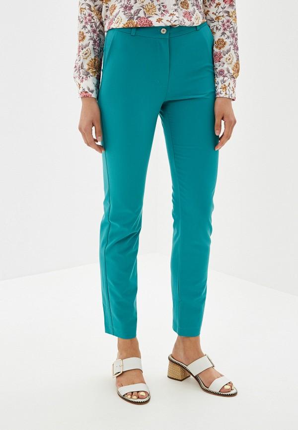 женские брюки po pogode, бирюзовые