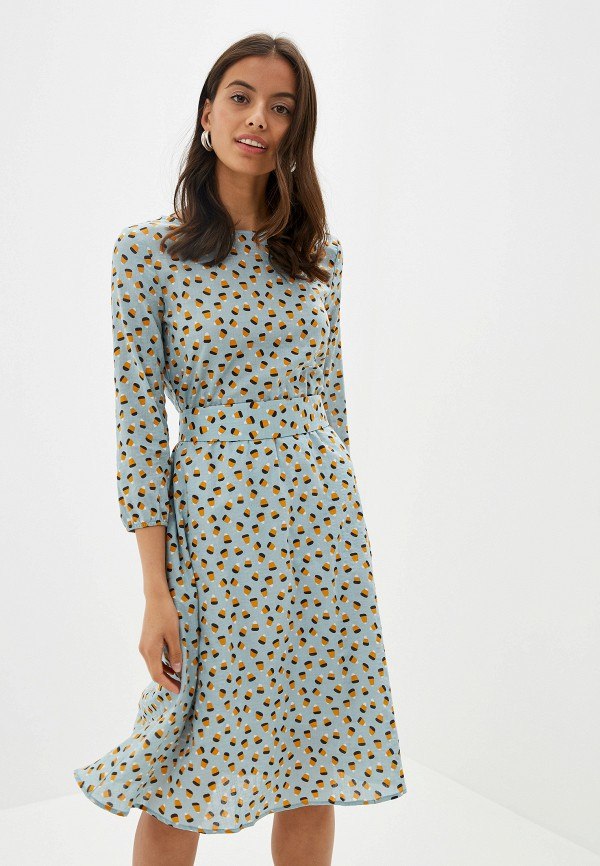 Платье po Pogode цвет бирюзовый