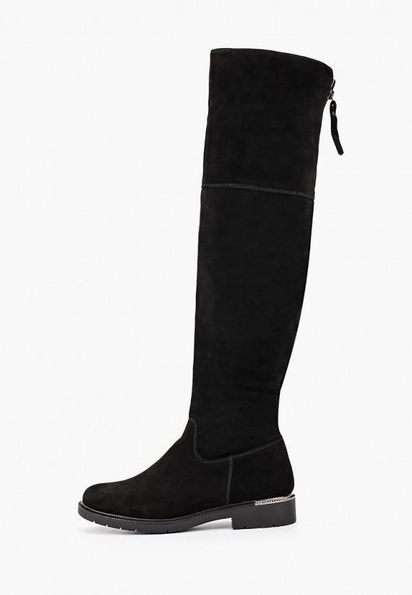 женские ботфорты semplice, черные