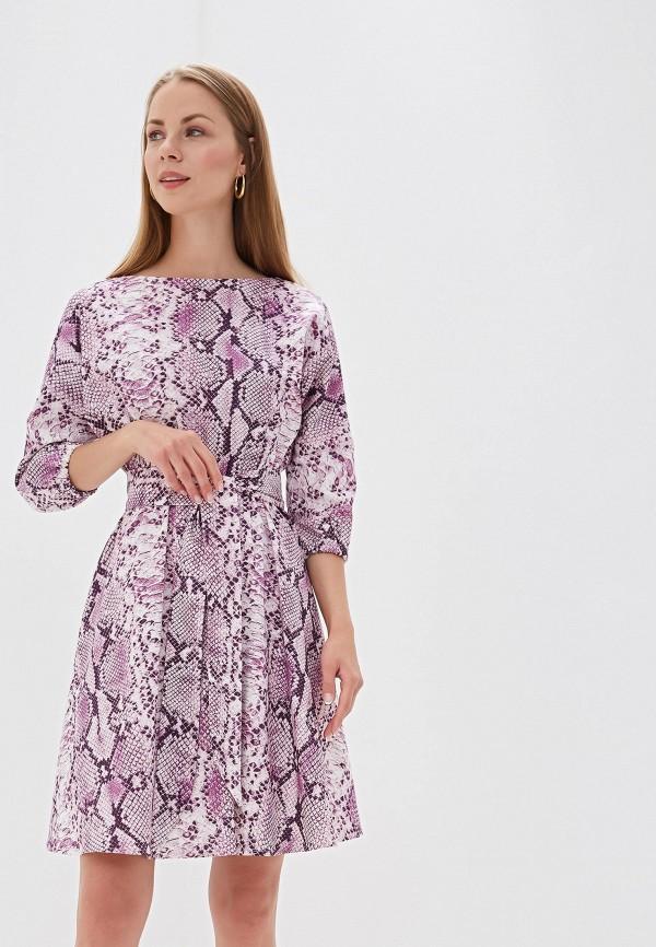 Платье  - фиолетовый цвет