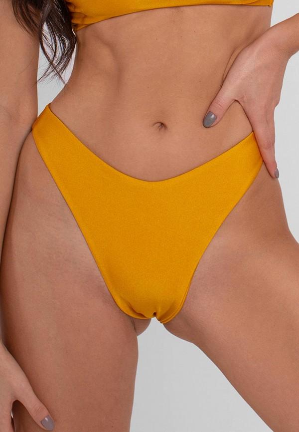 женские плавки love pam, желтые