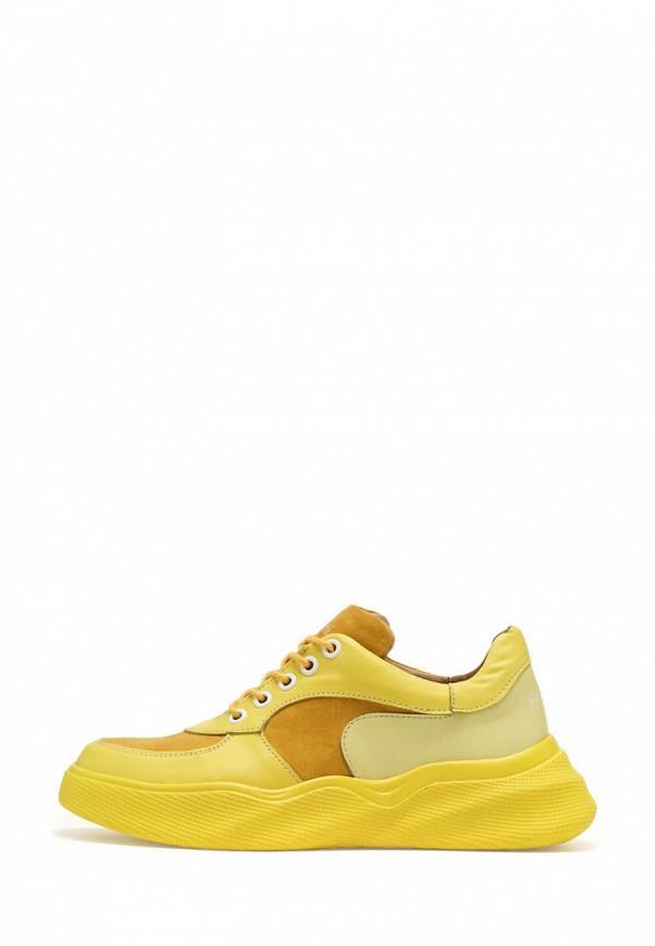 женские кроссовки broni, желтые