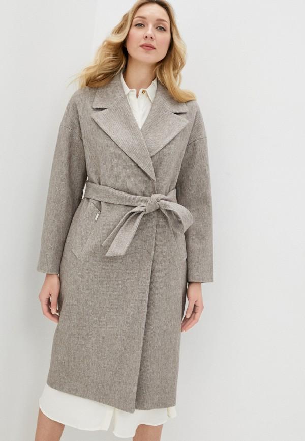 женское пальто almarosa, бежевое