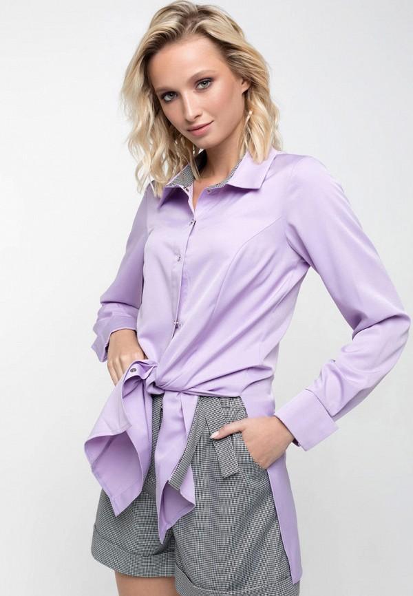 женская блузка ricamare, фиолетовая