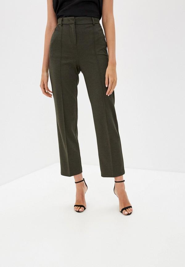 женские классические брюки zarina, зеленые