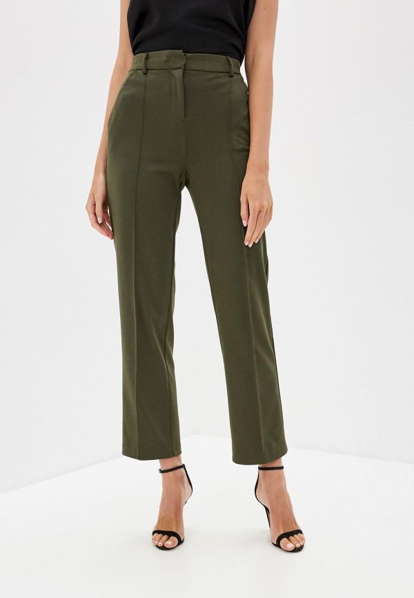 женские классические брюки zarina, хаки