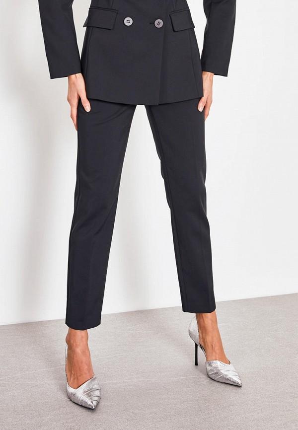 женские классические брюки lime, черные