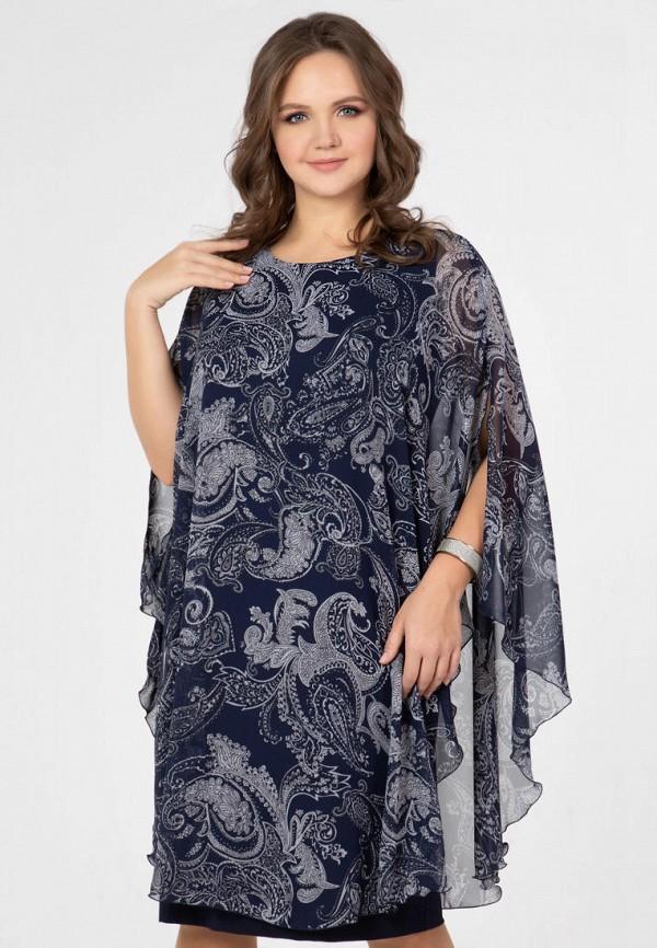 женское повседневные платье prima linea, синее