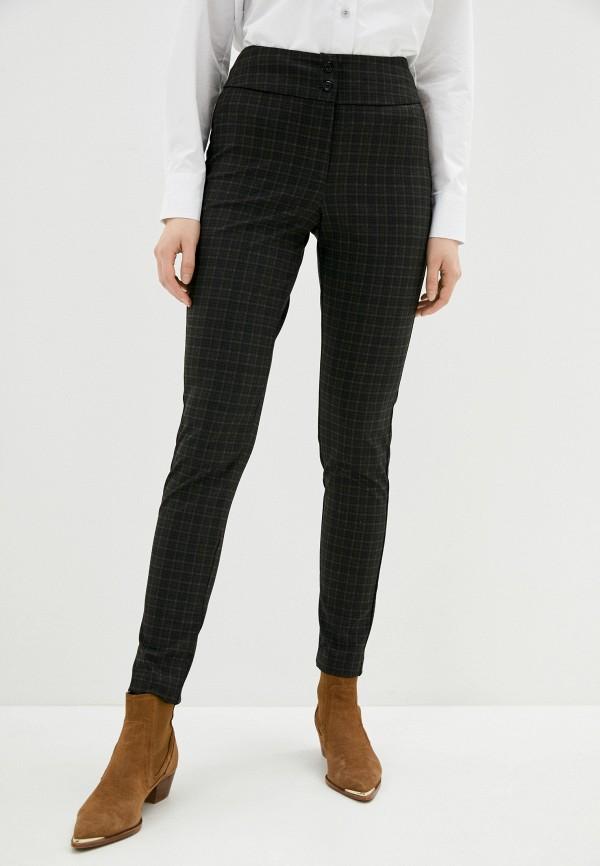 женские классические брюки viserdi, коричневые