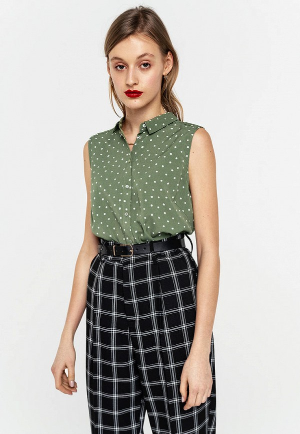 Фото - Женскую блузку Befree зеленого цвета