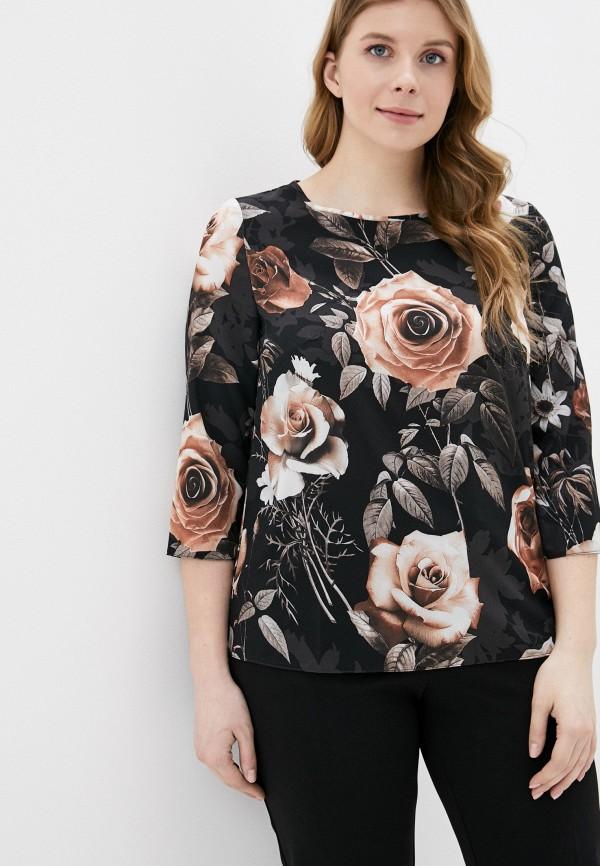 женская блузка viserdi, черная