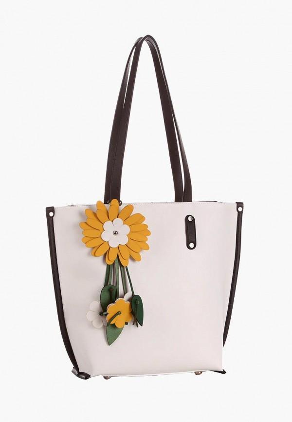 женская сумка alba soboni, белая