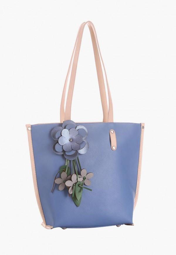 женская сумка alba soboni, голубая