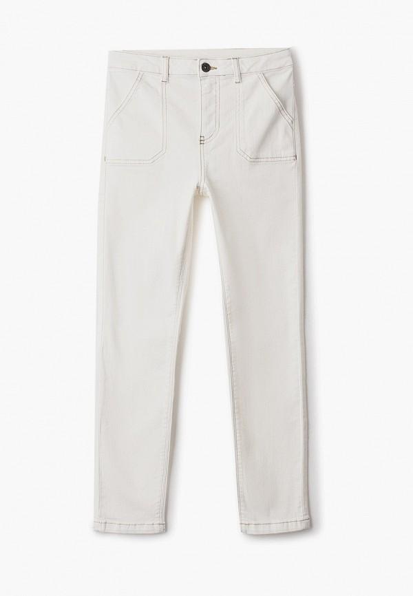 женские джинсы скинни calzedonia, белые