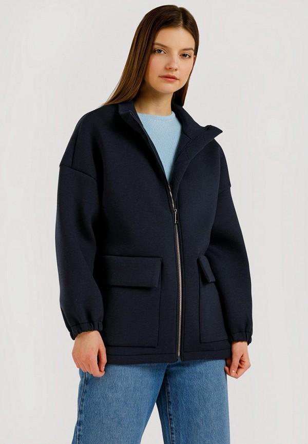 Куртка Finn Flare синего цвета