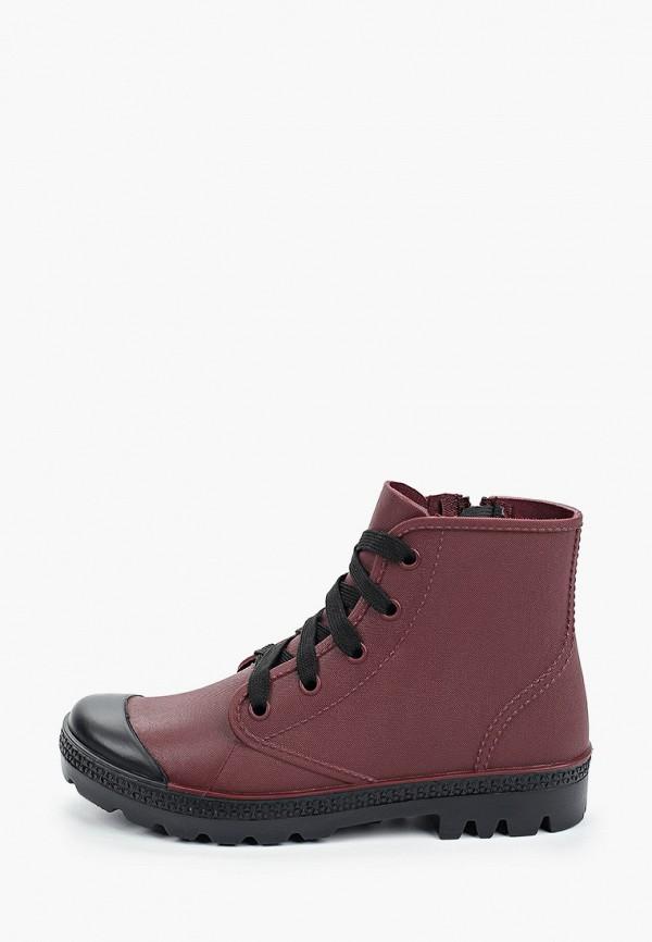 женские ботинки bridget, бордовые