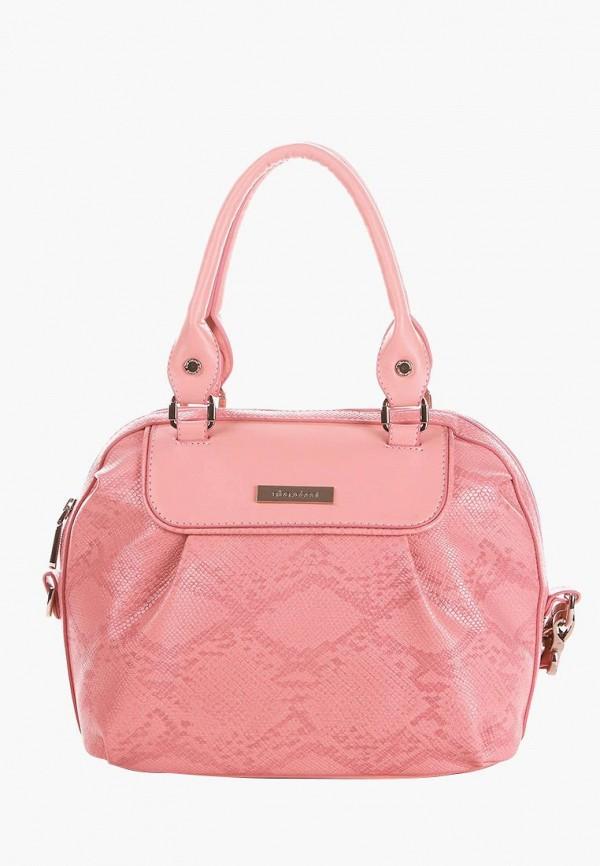 женская сумка alba soboni, розовая