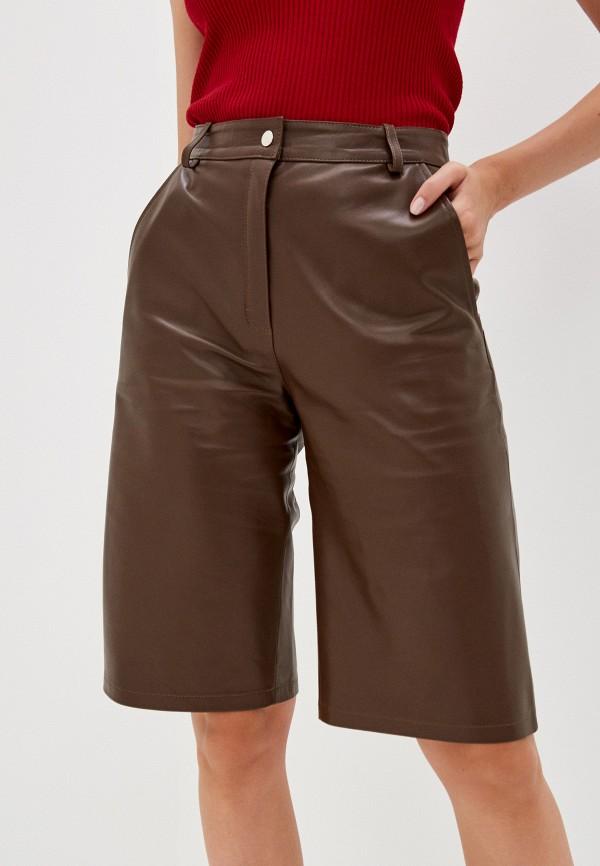 женские повседневные шорты grafinia, коричневые