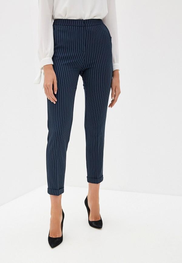 женские классические брюки incity, синие