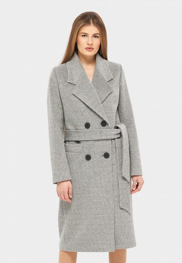 женское пальто danna, серое