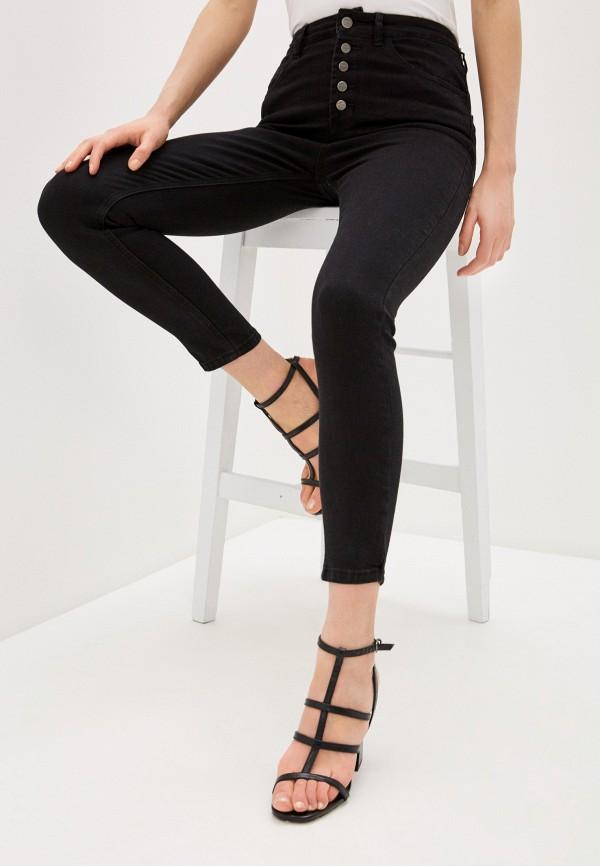 женские джинсы скинни concept club, черные