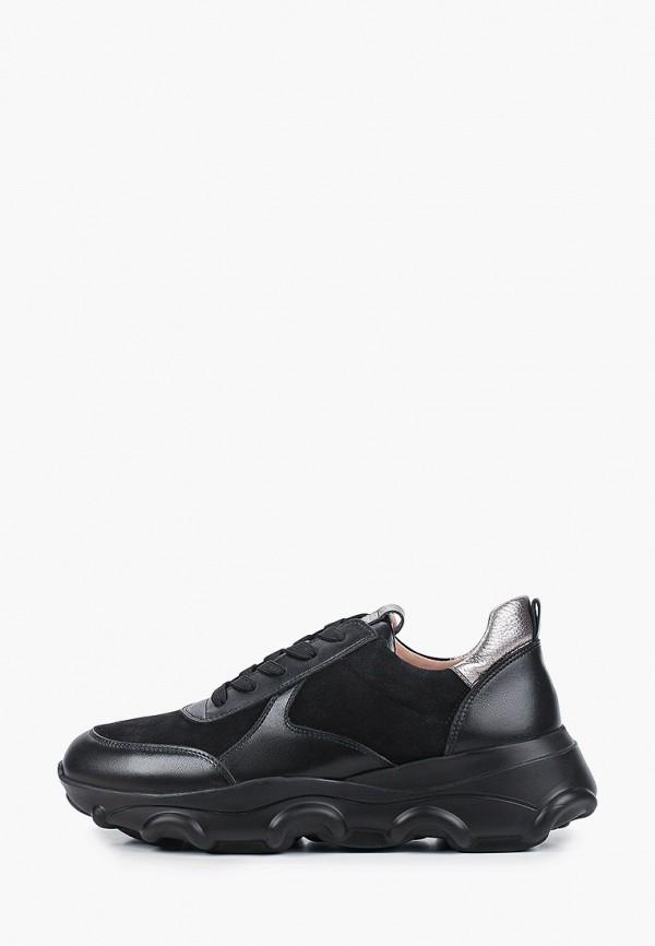 женские низкие кроссовки эконика, черные