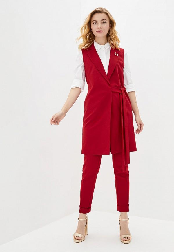 женский костюм zubrytskaya, красный