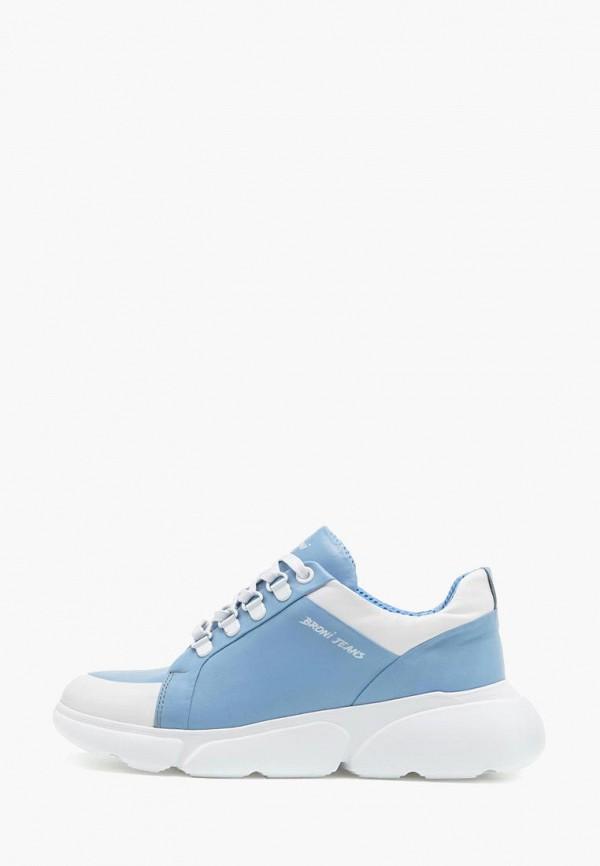 женские кроссовки broni, голубые