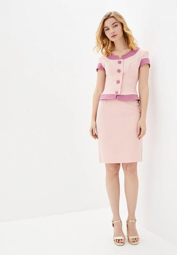 женский костюм luzana, розовый