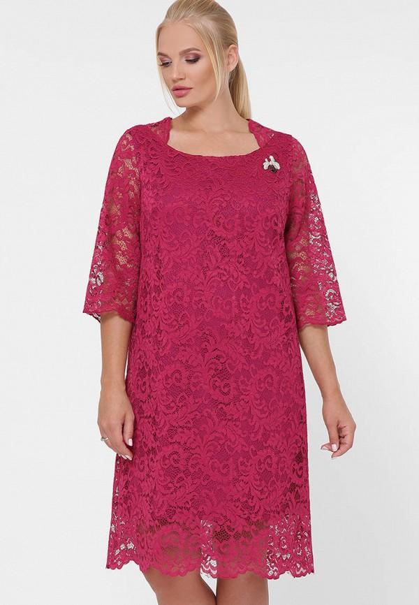 женское вечерние платье vlavi, розовое