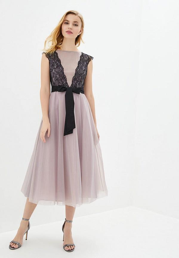 женское вечерние платье arefeva, фиолетовое