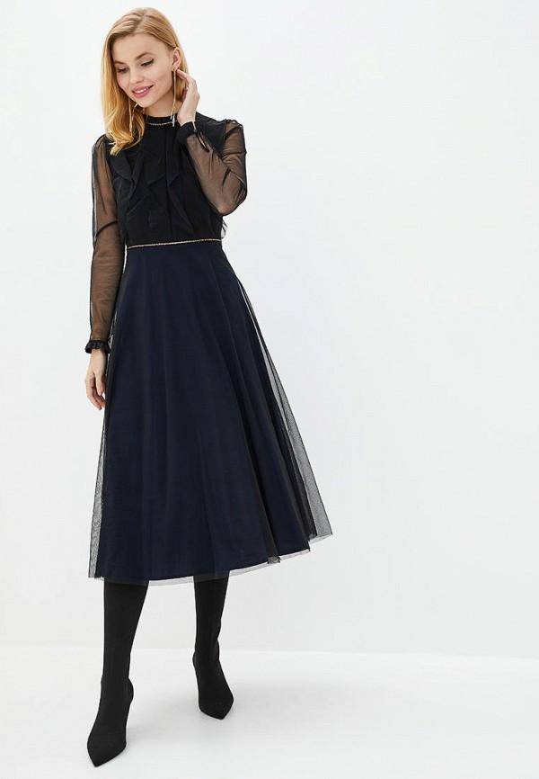 женское вечерние платье arefeva, синее