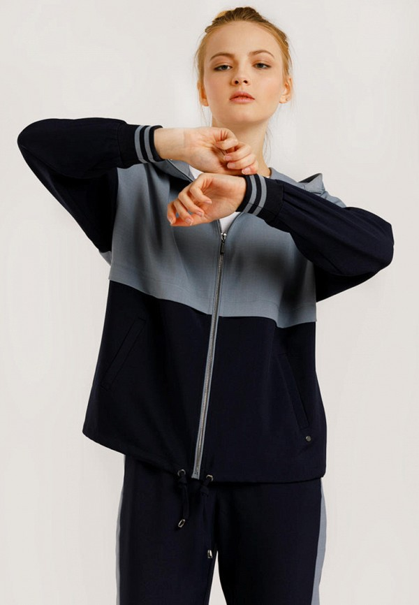 Толстовка Finn Flare синего цвета