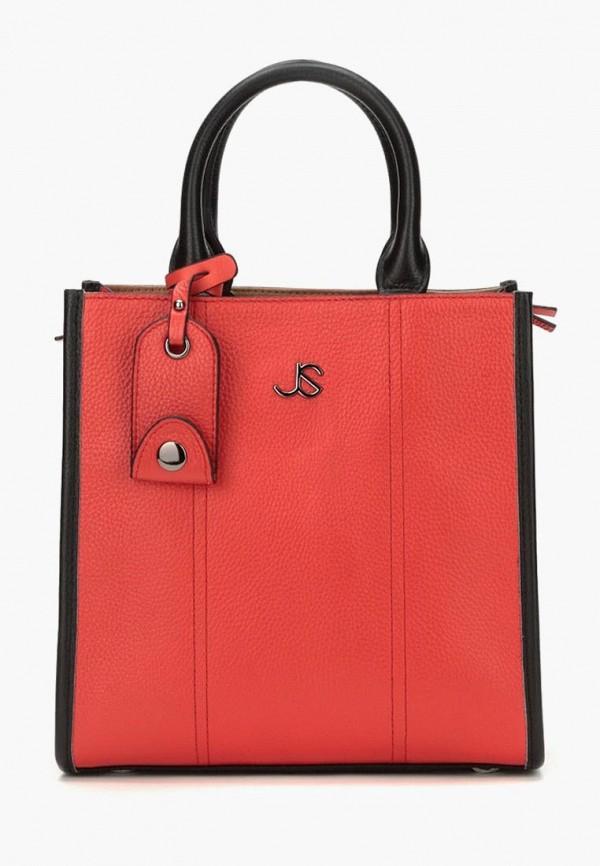женская сумка-шоперы jane's story, красная