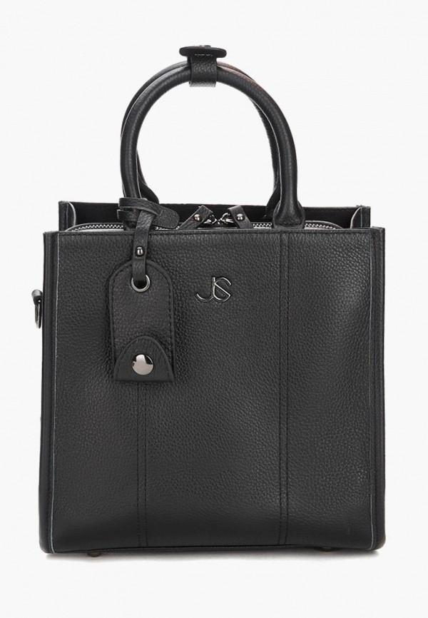 женская сумка с ручками jane's story, черная