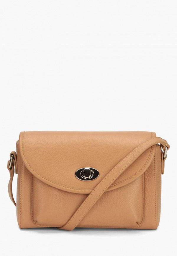 женская сумка через плечо jane's story, бежевая