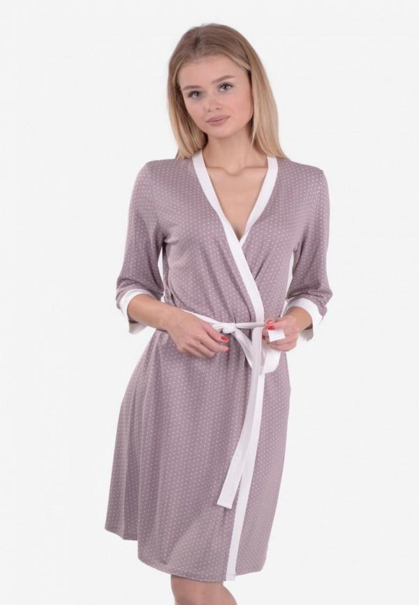 женский халат n.el, фиолетовый