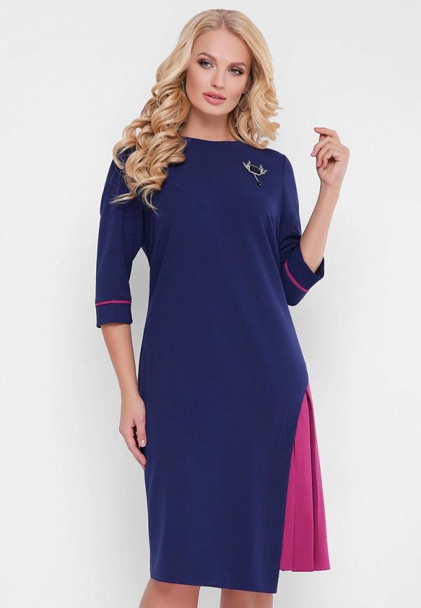 женское вечерние платье vlavi, синее