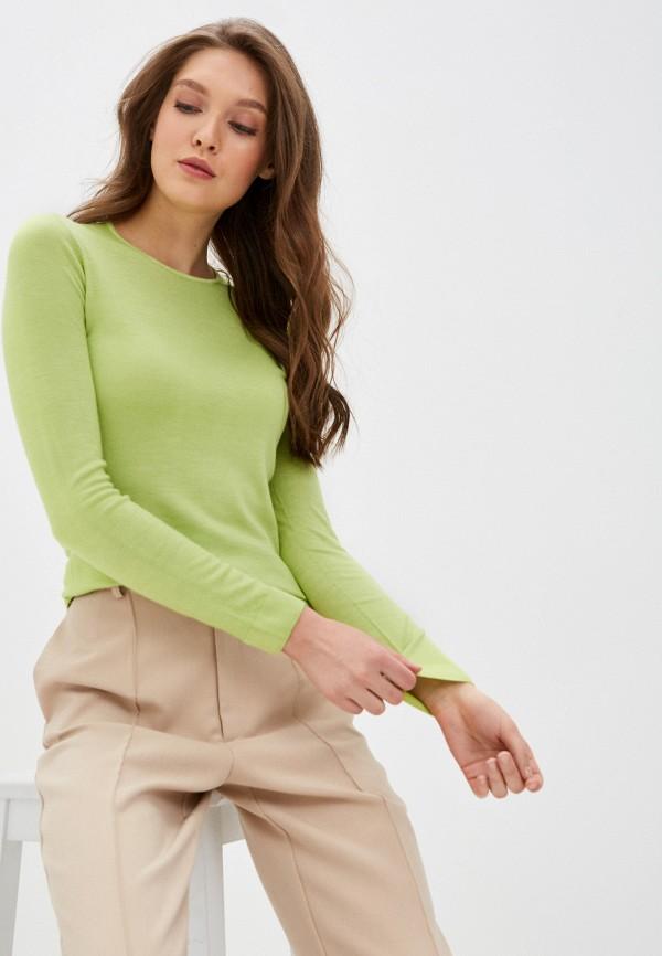 женский джемпер falconeri, зеленый