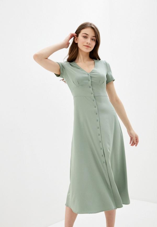 Фото - Женское платье Befree зеленого цвета