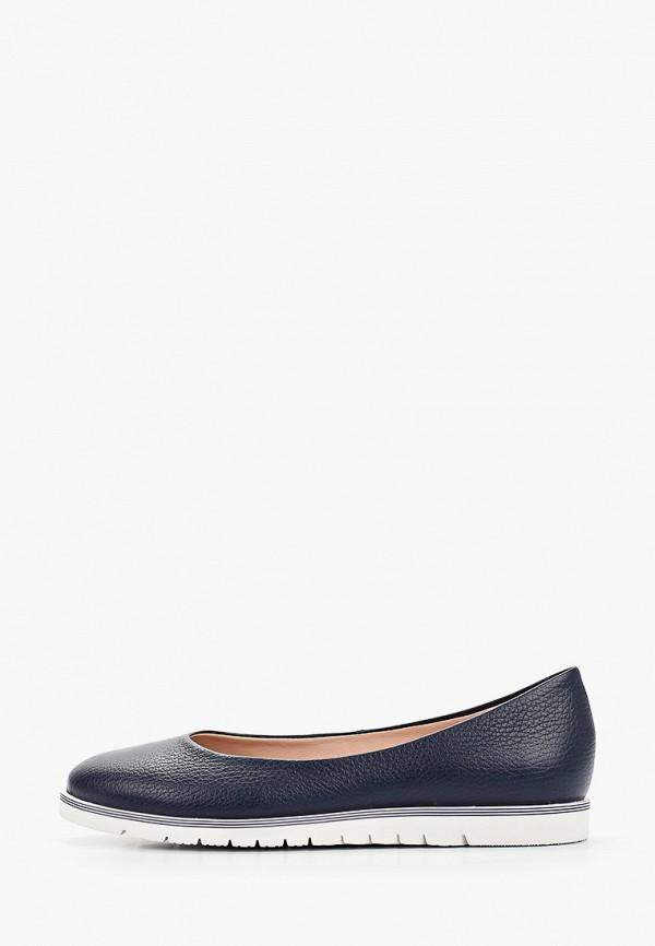 женские туфли с закрытым носом giotto, синие