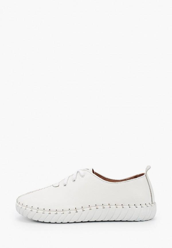 женские ботинки-оксфорды airbox, белые
