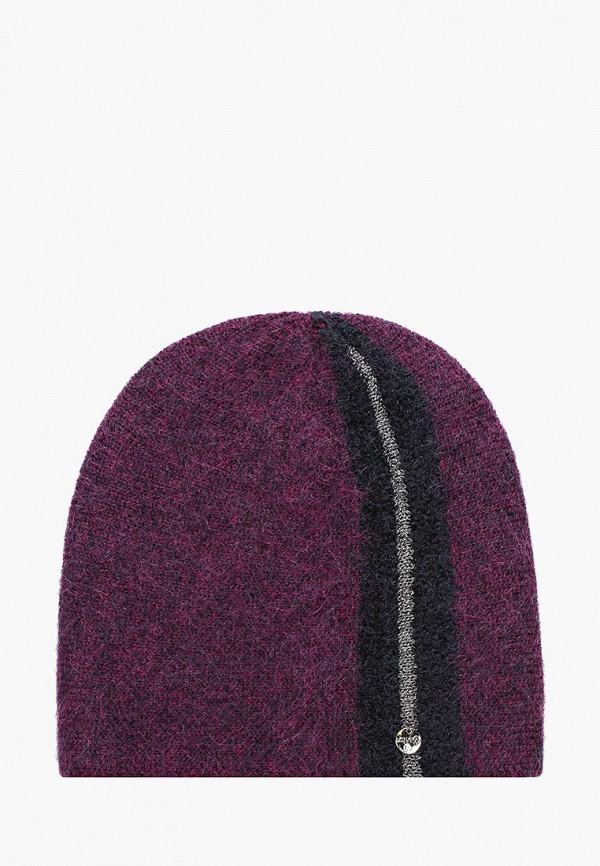 женская шапка dispacci, фиолетовая