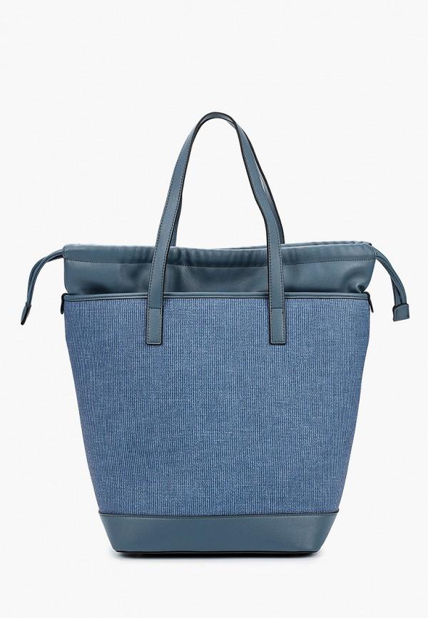 женская сумка-шоперы vitacci, синяя